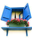 Blue window Stock Photos