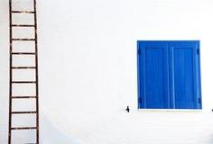 Blue Window Royalty Free Stock Image