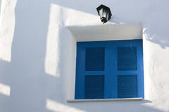 Blue Window Royalty Free Stock Photo