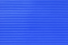 Blue Window Blinds Royalty Free Stock Photos