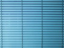 Blue window blinds royalty free stock photo