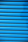 Blue window shades Royalty Free Stock Photos