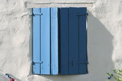 Blue Window Stock Photo