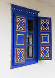 Blue window Royalty Free Stock Image