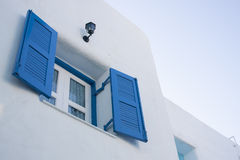 Blue Windows. Blue Stock Image