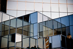 Blue Windows. A photo is a glass building Royalty Free Stock Photo