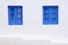 Blue windows Stock Photos