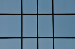 Blue windows abstract Royalty Free Stock Photos