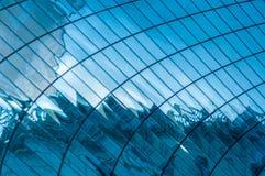 Blue windows background Stock Photos