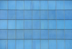 Blue windows background. Background of blue hotel windows Royalty Free Stock Photography