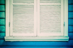 Blue windows. Stock Photography
