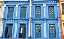 Blue Windows Royalty Free Stock Photo