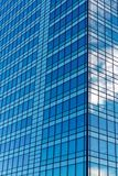 Blue Windows in Office Block Royalty Free Stock Photos