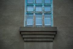 Blue windows. Stock Photography