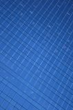 Blue windows pattern Royalty Free Stock Photos