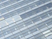 Blue windows of skyscraper Royalty Free Stock Photo