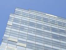 Blue windows of skyscraper stock photography
