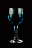 Blue wine Stock Photo