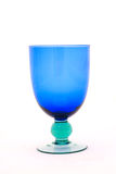 Blue wine glass Royalty Free Stock Photos