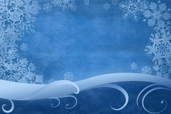 Blue winter background Stock Image