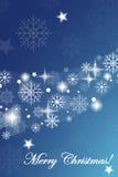 Blue winter background Stock Photo