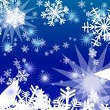 Blue winter background Stock Image