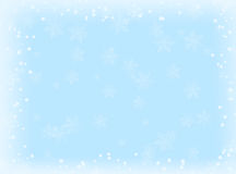 Blue winter background Royalty Free Stock Photo