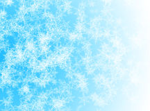 Blue winter background Stock Photos