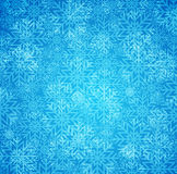 Blue winter background Stock Photography