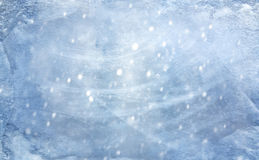 Blue winter icy background Royalty Free Stock Photography