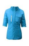 Blue winter jacket Stock Images
