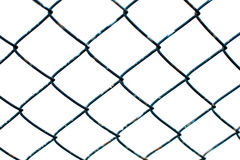 Blue wire mesh Royalty Free Stock Photos