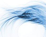 Blue Wisp Royalty Free Stock Photo