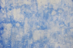 Blue and withe wall Royalty Free Stock Photos