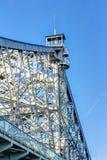 Blue Wonder Bridge Royalty Free Stock Image