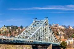 Blue Wonder Bridge Royalty Free Stock Photography