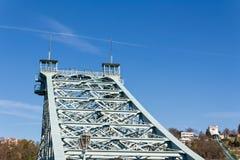 Blue Wonder Bridge Royalty Free Stock Photo