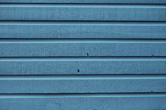 Blue wood background stock photo