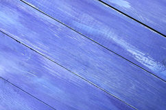 Blue wood background. Stock Photos