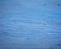 Blue wood background Stock Photography