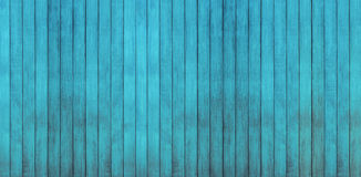 Blue wood backgrounds. Panoramic wood texture Royalty Free Stock Image