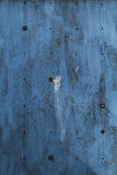 Blue wood. Grunge texture with holes Royalty Free Stock Image