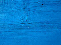 Blue wood plank. Closeup shot of blue wood plank texture royalty free stock photo