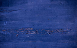 Blue wood surface background Royalty Free Stock Images