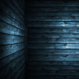 The blue wood texture Stock Photo