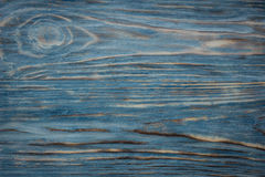 Blue Wood Texture Background. Royalty Free Stock Images