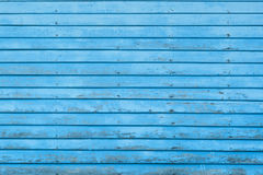 Blue wood texture background Royalty Free Stock Photos