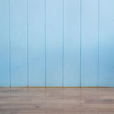 Blue wood texture background and wooden floor Royalty Free Stock Photo