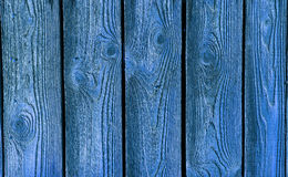 Blue wood texture Stock Photos