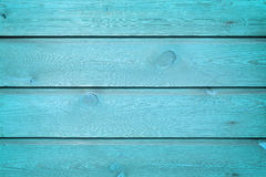The blue wood texture with natural patterns Stock Photo